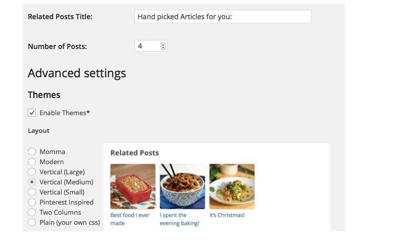 Plugins y formas de mostrar artículos relacionados en tu blog, zementa related post