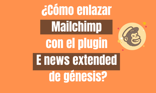 ¿Cómo enlazar mailchimp con el plugin e news extended de génesis?