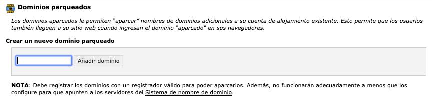 Redirecciona tu dominio .es a tu dominio .com desde tu hosting 1