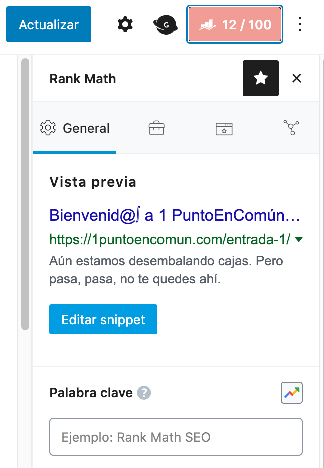 curso rank math seo para wordpress