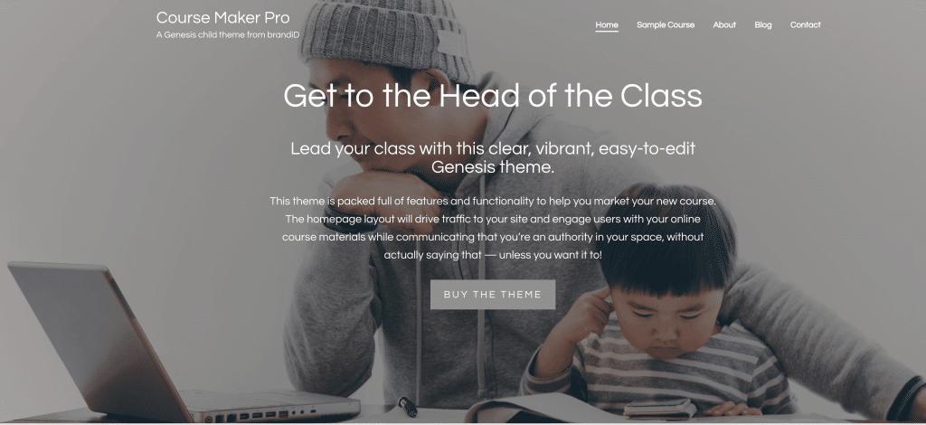 Course Maker Pro de StudioPeess | Theme para venta de cursos o membresías
