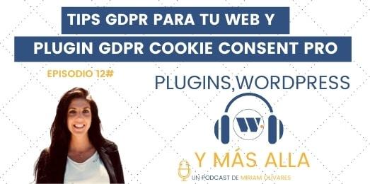 Tips GDPR en WordPress_ Plugin GDPR Cookie Consent PRO