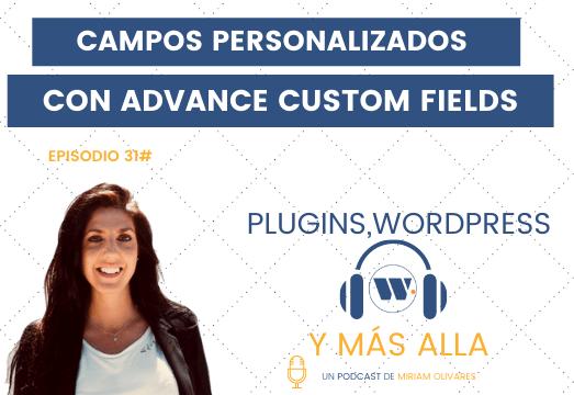 Campos Personalizados en WordPress con ACF